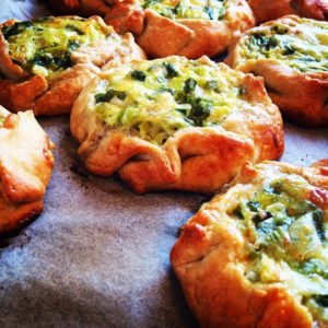 Little Tart Bakery Leek Galette