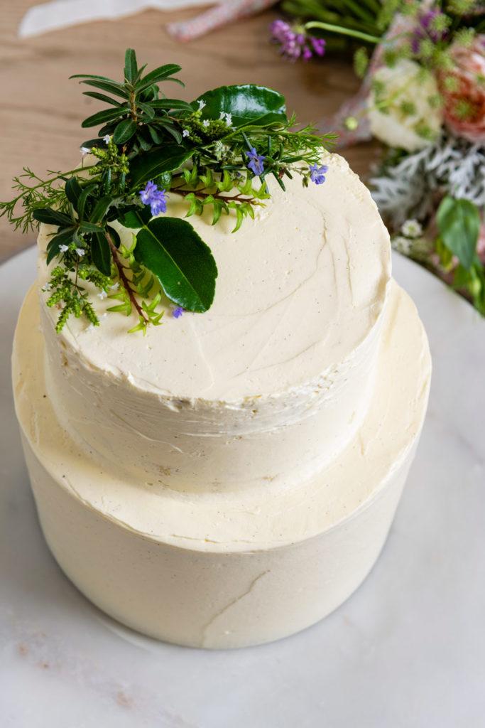 Little Tart Bakery Wedding Cake waiheke